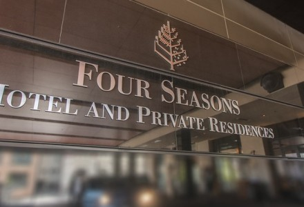 Parking at Four Seasons Hotel and Private Residences Denver
