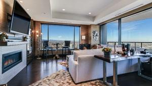 Living Room - Four Seasons Private Residences Denver, Colorado
