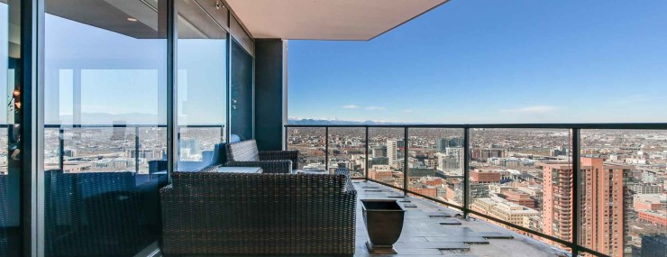 Denver Luxury Four Seasons Residences Patio