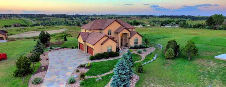 Parker Luxury Home For Sale Aerial Drone Picture
