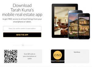 Real Estate Search app Kuna Estates Luxury Homes