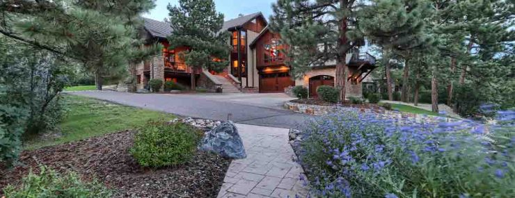 Forest Trails Luxury Home For Sale Exterior Front